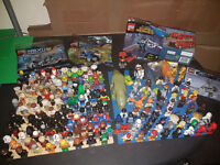 Lego minifigures! Star Wars,SuperHeroes, ninjago, Movie, Jurassic Park, NBA, Angry Birds...