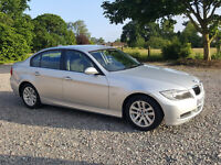 57/2007 BMW 318d e90 Elite Business Edition 5dr, SILVER, With Voice Control - 1 Previous Owner