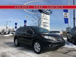 2014 Honda CR-V JUST TRADED IN, LTHR, ROOF, LOW KM'S!