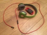 Beats headphones (green). *ANY OFFERS*