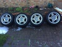 BMW M Sport alloys 17 inch genuine