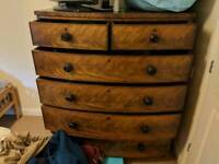 Deluxe wooden shelf/cupboard with drawers worth around 400 pounds