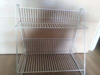 1 White Dish rack to sale