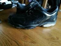 Mens Softjoy sport golfing shoes sz 10 black