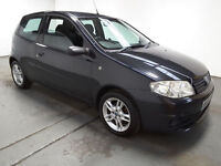 2005(55)FIAT PUNTO 1.2 X-BOX SPECIAL EDITION BLACK,VERY LOW MILES,2 OWNER,GREAT VALUE