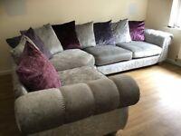 SCS Quantas corner sofa & 2 seater cost £2300