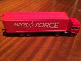 Parcel force lorry