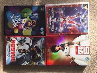 Four DVD's
