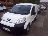 PEUGEOT BIPPER S HDI WHITE, 2012, DIESEL FOR SALE..