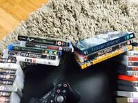 PS3 with loads of games and DVD/Blue Ray