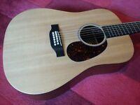 Martin 12 String Electro Acoustic Guitar D12X1AE. Gibson Taylor Guild Fender yamaha Twelve Folk