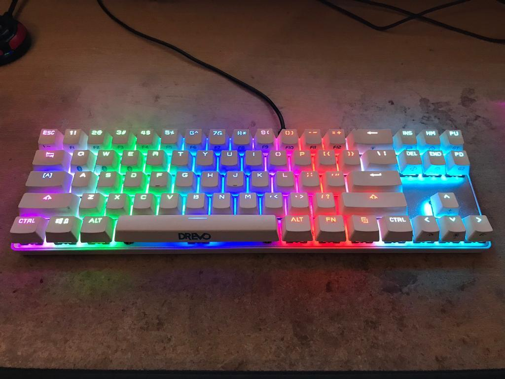 f443fc6d34d Drevo Calibur RGB Bluetooth Mechanical Keyboard   in Alfreton ...