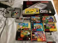Boxed Snes rare super Nintendo control set Variant + Mario Allstars + Mario world