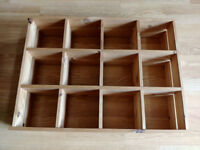 CD storage unit for wall fitting. Excellent condition.
