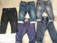 Baby boy jeans/ trousers 6-9 months