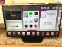 LG 47 Inch Smart WiFi Ready Full HD 1080p LED TV With Freeview HD