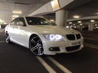 BMW 320d M Sport E92 Facelift In White - 12 Months MOT - Immaculate Condition For year