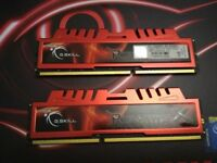 8GB G.Skill Ripjaw 1600Mhz PC3-12800 CL9 DDR3 (2 x 4GB)