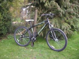 python rock front suspension alloy 16 in frame,very tidy condition