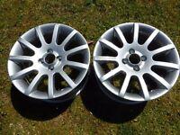 "Two x Ariel Atom 7""x15"" Technomagnesio Alloy Wheels. Refurbished. Poss Lotus MGF?"