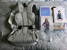 Baby Bjorn Air Mesh One carrier with box and instructions