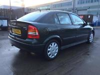 Vauxhall Astra 2002 1.6 Petrol, 99k(warranted)mileage, Very clean, Excellent Runner