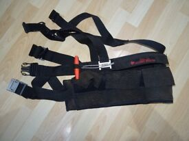divers harness type weight belt