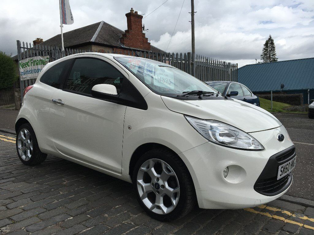 FORD KA 1.2 TITANIUM, 60 PLATE 2010....ONE OWNER CAR !!!!.....32,000 MILES TOP SPEC EDITION....