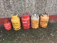 Gas Cylinders Butane Propane Cooking BBQ Camping