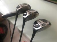 Golf clubs - woods and driver