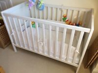 ***URGENT***IKEA SUNDVIK Cot Bed, no signs of wear, looks brand new