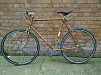 Retro Vintage Single Speed Steel Bike 60cm