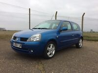 Renault Clio Campus Sport, Very Low Mileage, Great condition and ideal first car