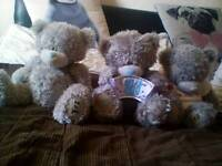 3x various medium me 2 u bears