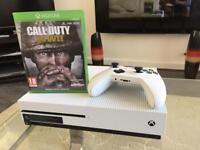 Xbox one s 500gb + call of duty ww2