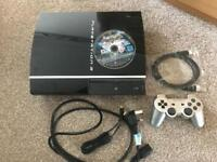 PS3 complete with games