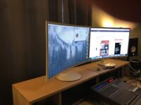 "Samsung Curved C32F391FWU 31.5"" 1080p 4ms HDMI/DP LED Monitor"