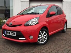 2014 14 Toyota AYGO 1.0 67bhp Mode a/c~ONE OWNER FROM NEW WITH LOW MILES~