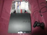 PS3, 1 controller, 15 games