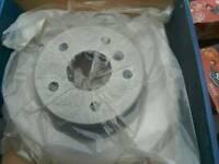 Brake discs and pads for td5 landrover 05 reg