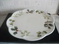 Cake Plate / Cream