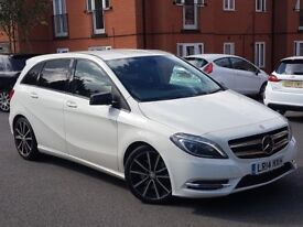 2014 MERCEDES BENZ B 220 CDI SPORT AUTO - WHITE - £30 A YEAR TAX - PX WELCOME