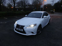 Lexus IS 300h F Sport Saloon Continuously Variable Electric Hybrid 0% FINANCE AVAILABLE