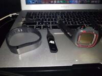 fitbit+garmin gps watch