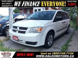 2008 Dodge Grand Caravan SE|POWER LOCKS/WINDOWS| CERTIFIED