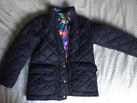 Girls Joules coat age 7yrs