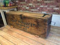 Restored Vintage Tool Box - Bespoke Design - Storage Box - Dovetail jones