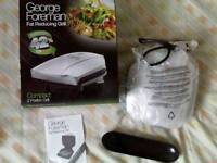 George Foreman Fat Reducing 2-Portion Grill