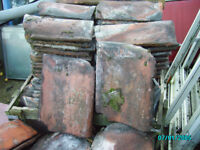 Victorian red clay pan tiles