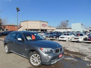 2012 BMW X1 X-DRIVE- PANORAMIC ROOF-LOW KM'S!